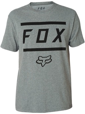 Pánské tričko Fox Listless Airline Heather dark grey