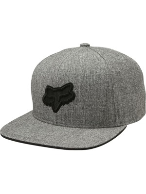 Kšiltovka Fox Legacy Snapback heather grey