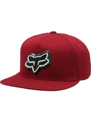 Kšiltovka Fox Ingratiate Snapback dark red