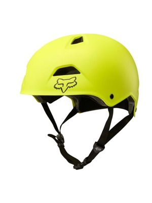 Downhill/BMX přilba Fox Flight Sport Yellow Black