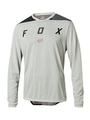 Dres Fox Indicator L/S Jersey Mash Camo Cool Grey