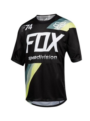 Dres Fox Demo S/S Jersey Drafter Black