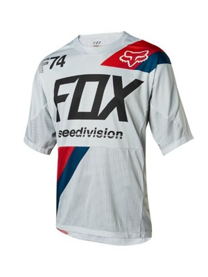 Dres Fox Demo S/S Jersey Drafter Cool Grey