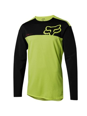 Dres Fox Attack Pro L/S Jersey Yellow/Black