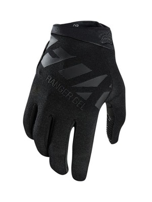 Cyklo rukavice Fox Ranger Gel Glove Black/Black