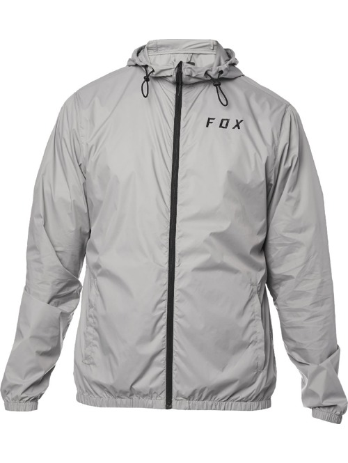 Pánská bunda Fox Attacker Windbreaker steel grey