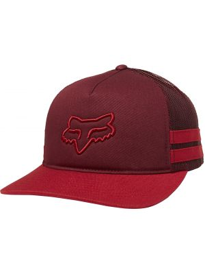Kšiltovka Fox Head Trik Trucker cranberry