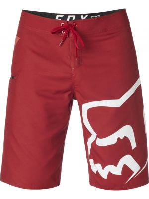 Plavky Fox Stock Boardshort Cardinal