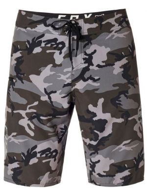 Plavky Fox Overhead Camo Stretch Bs Black Camor