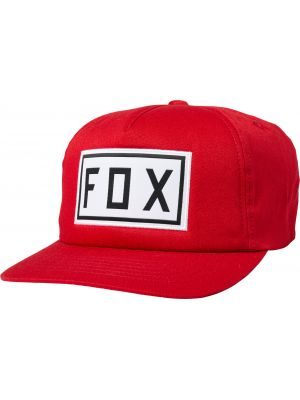 Kšiltovka Fox Drive Train Snapback Hat chilli