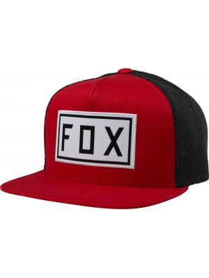 Kšiltovka Fox Youth Drivetrain Snapback Hat chilli