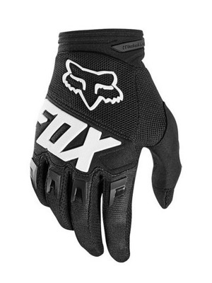 Cyklistické rukavice Fox Dirtpaw Race Glove Black