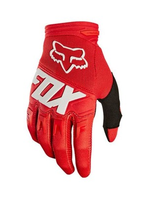 Cyklistické rukavice Fox Dirtpaw Race Glove Red