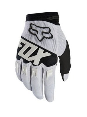 Cyklistické rukavice Fox Dirtpaw Race Glove White