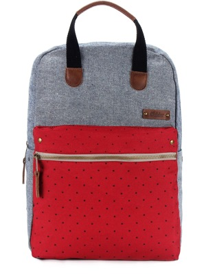 Batoh G-ride Benedicte grey/red