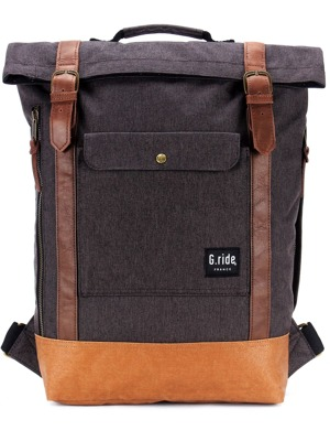 Batoh G-ride Balthazar black & camel