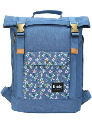 Batoh G.ride Balthazar  XS blue flower 8,5l