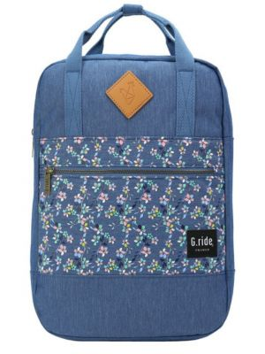 Batoh G.ride Diane blue flower 8l