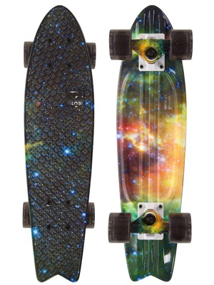 Mini longboard Globe Graphic Bantam St galaxy 23""