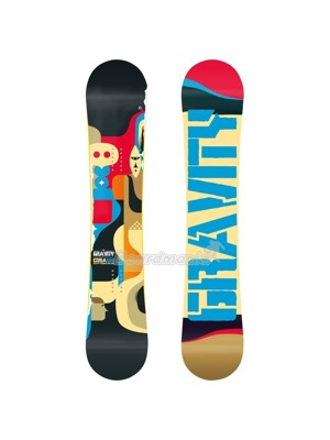 Snowboard Gravity Cosa wide 13/14