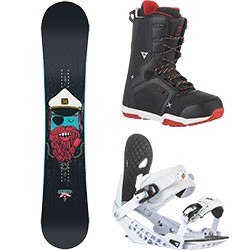 Snowboard komplet Gravity Empatic 15/16