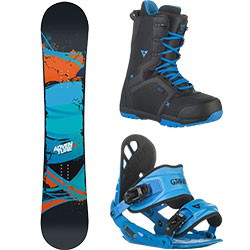 Snowboard komplet Gravity Adventure 15/16