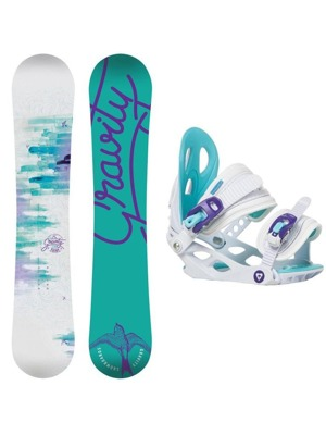 Snowboard set Gravity Fairy 16/17