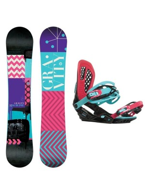 Snowboard set Gravity Sublime 16/17