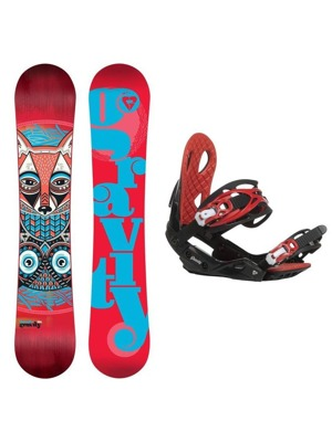 Snowboard set Gravity Thunder 16/17