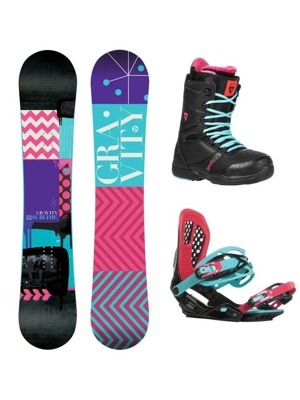 Snowboard komplet Gravity Sublime 16/17