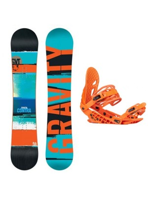 Snowboard set Gravity Contra 16/17