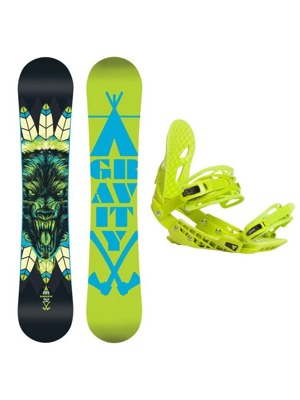 Snowboard set Gravity Empatic 16/17