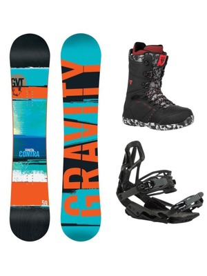 Snowboard komplet Gravity Contra 16/17