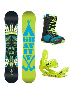 Snowboard komplet Gravity Empatic 16/17