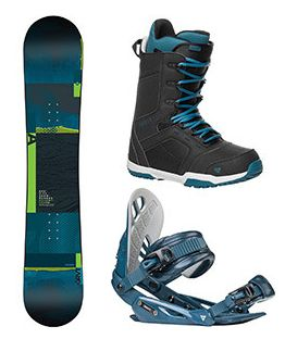 Snowboard komplet Gravity Adventure 17/18