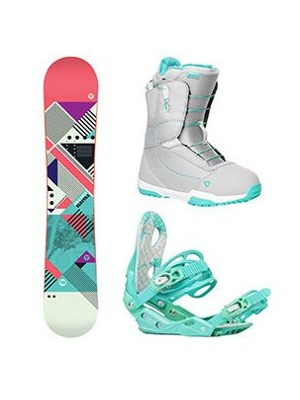 Snowboard komplet Gravity Electra 17/18