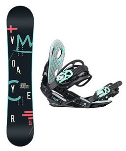 Snowboard set Gravity Voayer 17/18
