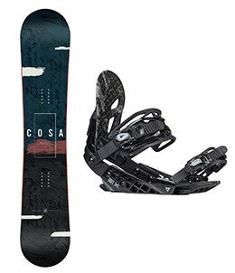 Snowboard set Gravity Cosa 17/18