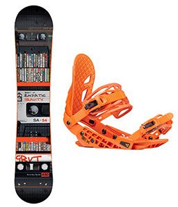 Snowboard set Gravity Empatic 17/18