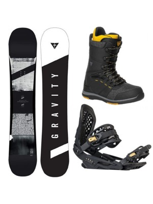 Snowboard komplet Gravity Contra 17/18