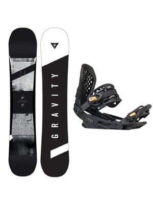 Snowboard set Gravity Contra 17/18