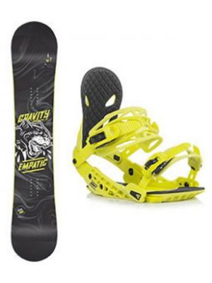 Snowboard set Gravity Empatic 18/19