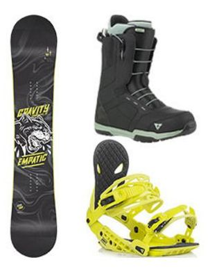 Snowboard komplet Gravity Empatic 18/19