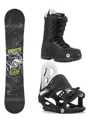 Snowboard komplet Gravity Flash 18/19