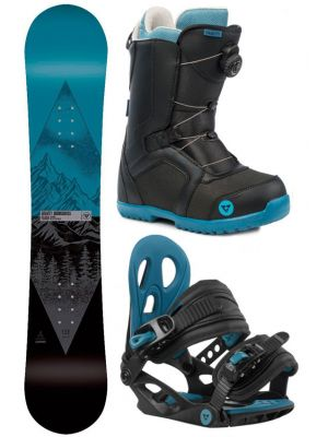 Snowboard komplet Gravity Flash 19/20