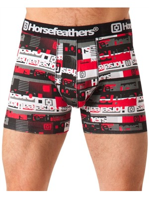 Boxerky Horsefeathers Rhyme red