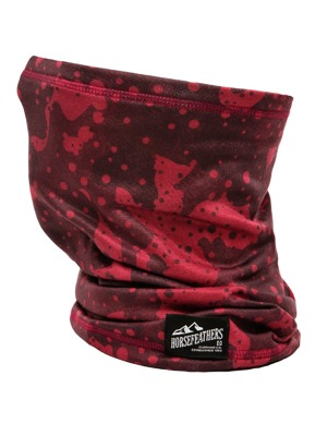 Nákrčník Horsefeathers Neck Warmer II strawberry camo
