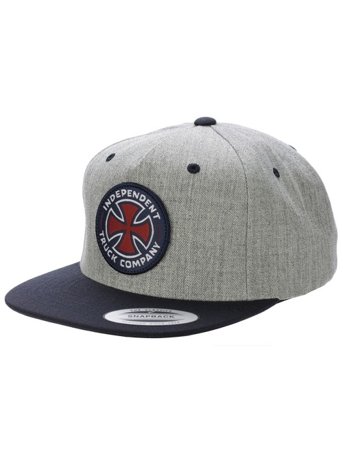 Kšiltovka Independent Itc Cross 2 dark heather/ indigo z kategorie Snapback kšiltovky.