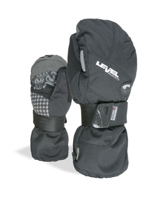Rukavice Level Half Pipe Mitt Gore-Tex black