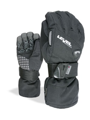 Rukavice Level Half Pipe Gore-Tex black